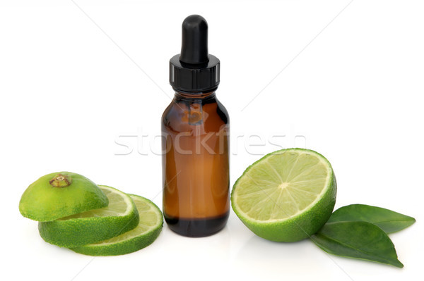 Lime Essential Oil Stock photo © marilyna