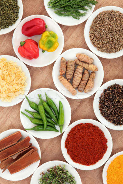 Food Ingredients Stock photo © marilyna