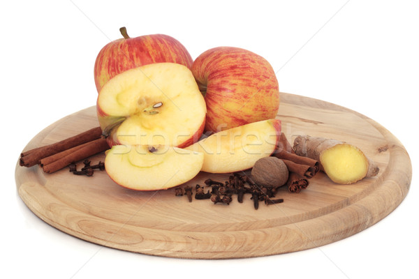Apples and Spices Stock photo © marilyna