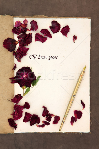 I Love You Letter Stock photo © marilyna