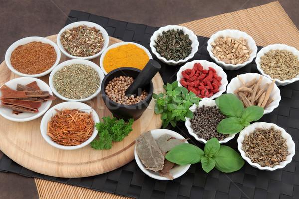 Erbe salute erbe Spice uomini usato Foto d'archivio © marilyna