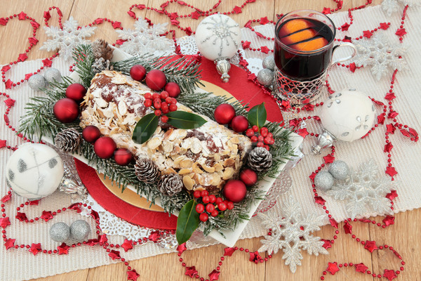 Christmas Still Life Party Food Stock photo © marilyna