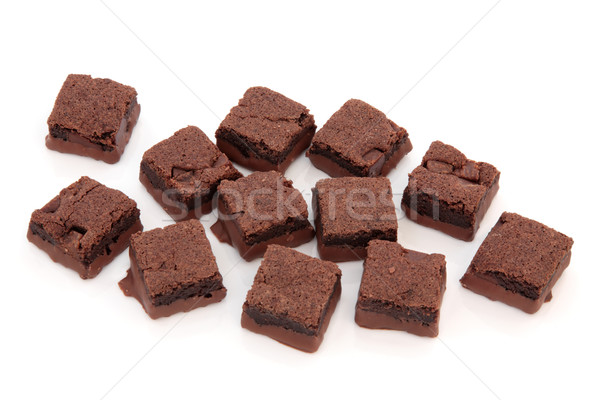 Chocolate Brownie Cakes Stock photo © marilyna