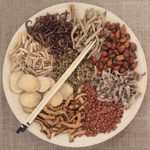 Chinese Herbal Mediicne Stock photo © marilyna