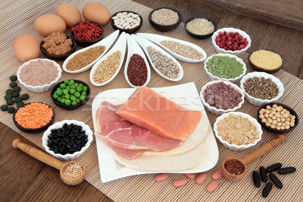 Body Building Diet food Stock photo © marilyna