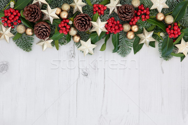 Christmas Abstract Background Stock photo © marilyna