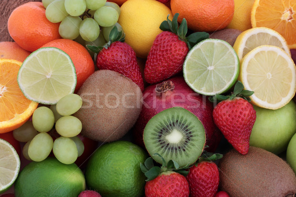 Fresh Fruit Background Stock photo © marilyna