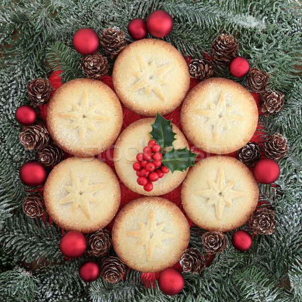 Traditional Christmas Food Stock photo © marilyna