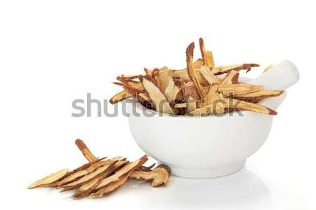 Zdjęcia stock: Korzeń · herb · używany · chińczyk · oliwy
