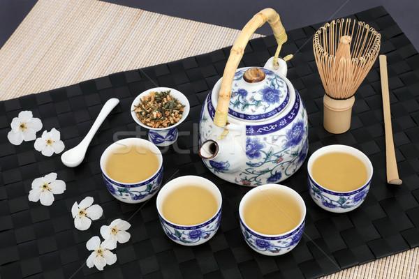 Japonais thé cérémonie théière Photo stock © marilyna
