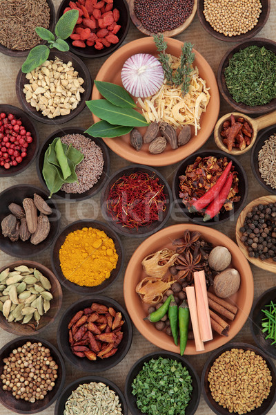 Herbs and Spice is Nice Stock photo © marilyna