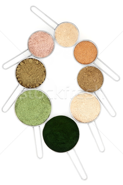 Body Building Powders Stock photo © marilyna