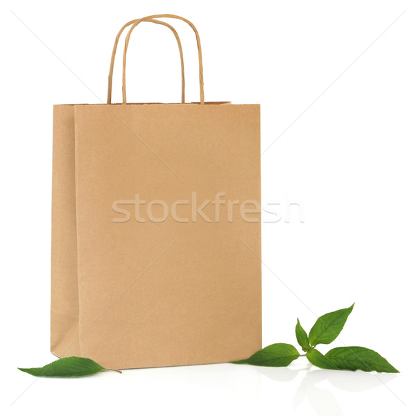 Recycled Carrier Bag Stock photo © marilyna
