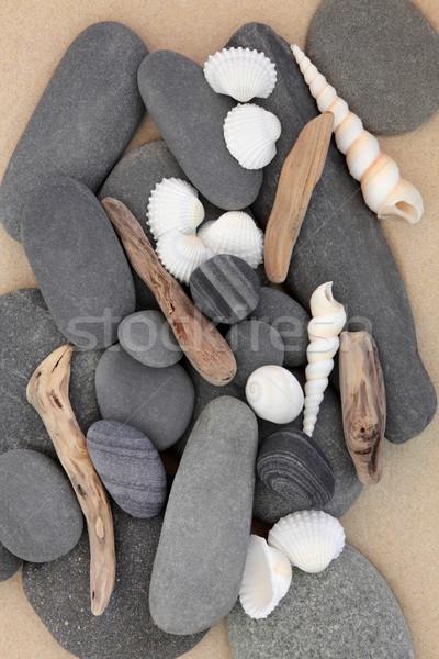 Beach Beauty Stock photo © marilyna