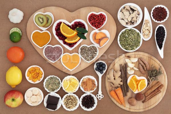 冷たい 治す 食品 健康 高い ストックフォト © marilyna