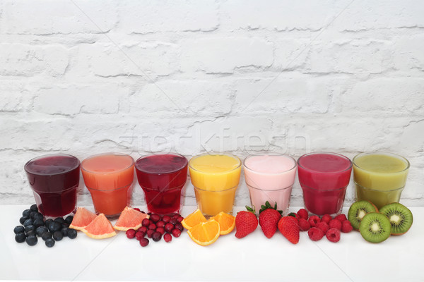 Fruit Juice Drinks Stock photo © marilyna