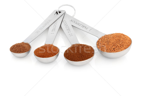 Spice Measurement Stock photo © marilyna