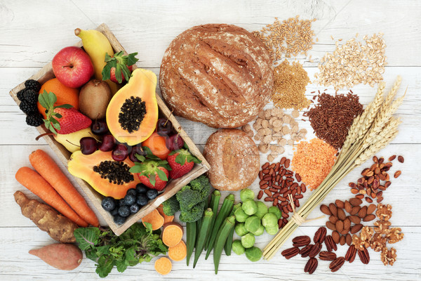 Stock photo: Healthy High Fibre Diet Food
