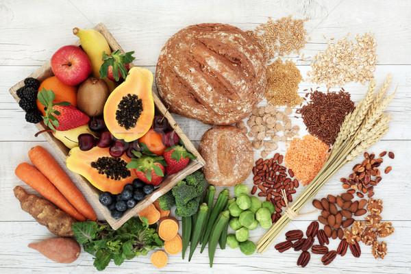 Egészséges magas rost diéta étel diétás Stock fotó © marilyna