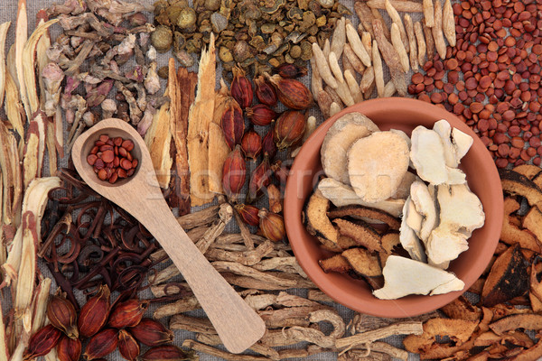 Chinese Medicinal Herbs Stock photo © marilyna