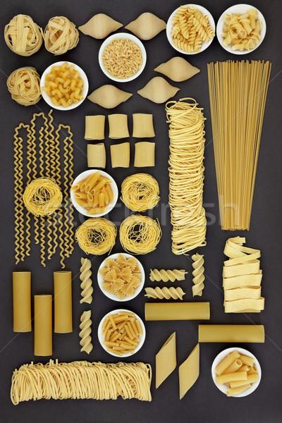 Italian Pasta Food Selection Stock photo © marilyna