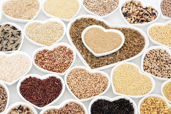 Healthy Grain Food Selection Stock photo © marilyna