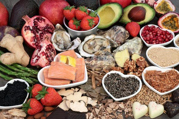 Healthy Aphrodisiac Food Stock photo © marilyna