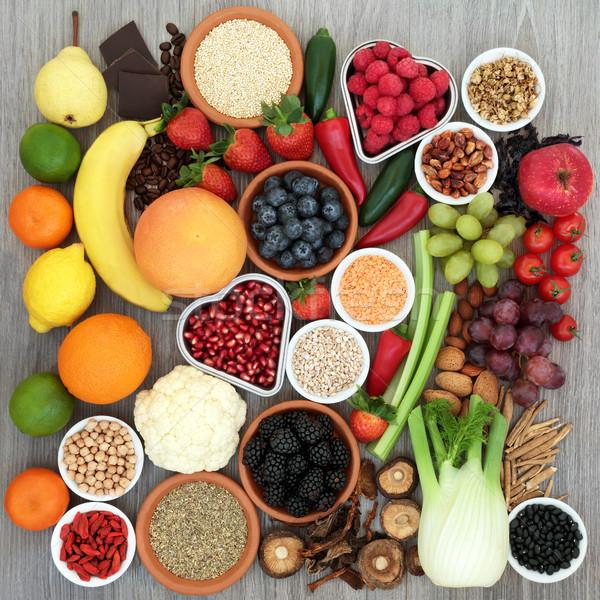 Salud alimentos dieta dieta hortalizas frutas Foto stock © marilyna
