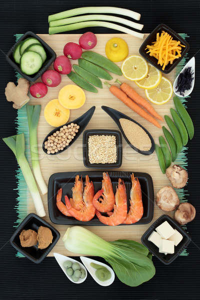 Macrobiotic Diet Food Selection Stock photo © marilyna