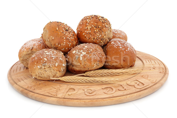 Sesame and Oat Bread Rolls Stock photo © marilyna