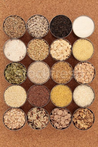 злаки семян большой коллекция зерновых Сток-фото © marilyna