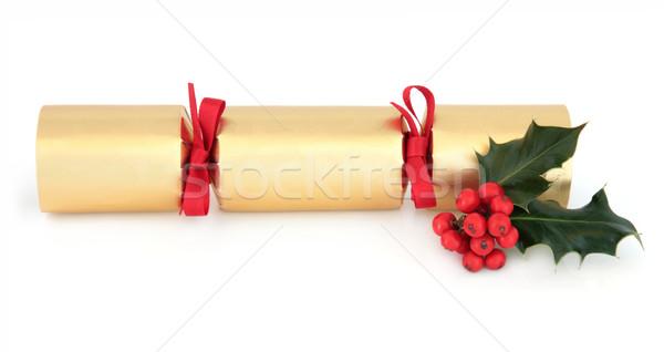 Christmas Cracker Stock photo © marilyna