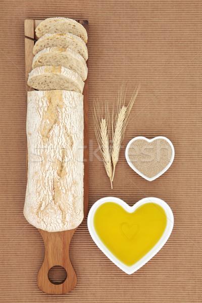 Ciabatta Bread Stock photo © marilyna