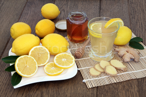 Natural Cold and Flu Remedy Stock photo © marilyna