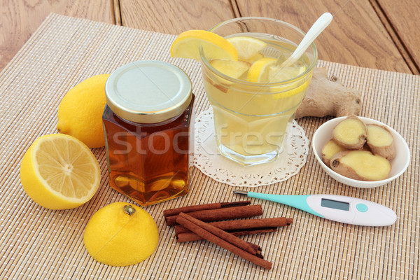 Cold and Flu Alternative Medicine Stock photo © marilyna
