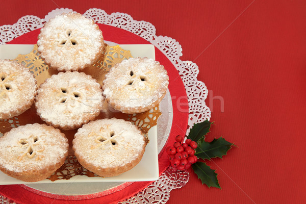 Mince Pies for Christmas Stock photo © marilyna