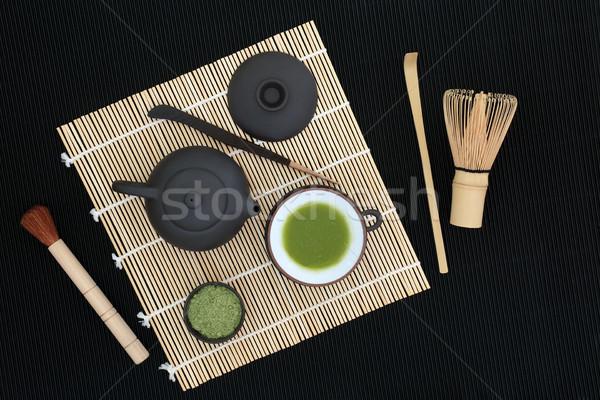Japanese Matcha Tea   Stock photo © marilyna