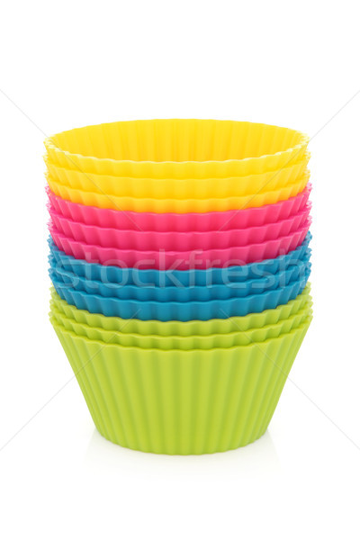 Cupcake Pastry Cases Stock photo © marilyna
