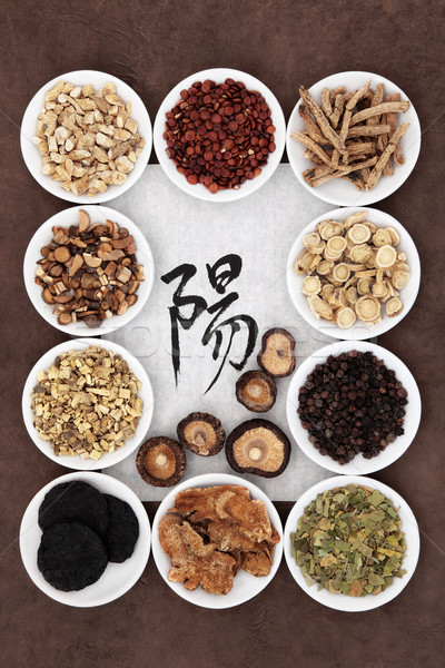 Yang Herb Selection Stock photo © marilyna