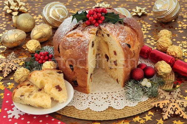 Italian Christmas Cake Stock photo © marilyna
