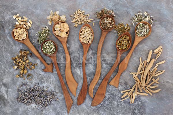 Herbal Medicine for Anxiety Disorders Stock photo © marilyna