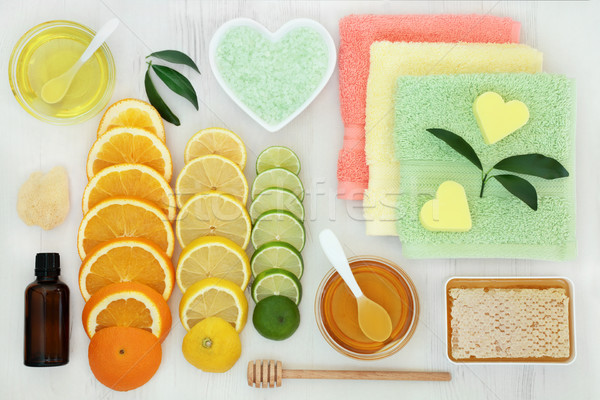 Citrus Spa Beauty Treatment Stock photo © marilyna
