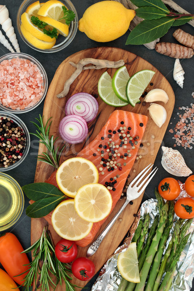 Food to Maintain a Healthy Heart Stock photo © marilyna