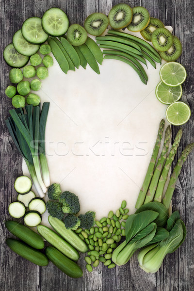 Green Super Food Background Stock photo © marilyna