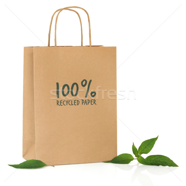 Recycled  Bag Stock photo © marilyna