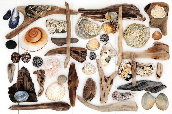 Abstract Beach Art Stock photo © marilyna
