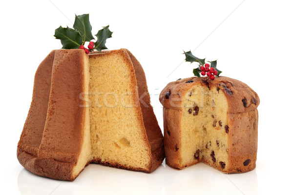 Panettone and Pandoro Cakes Stock photo © marilyna