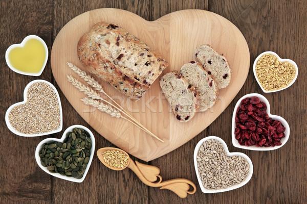 Homemade Cranberry Bread Stock photo © marilyna