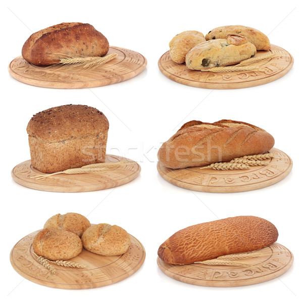Bread Selection Stock photo © marilyna