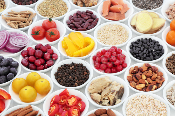 Super Food Nutrition for a Healthy Heart Stock photo © marilyna